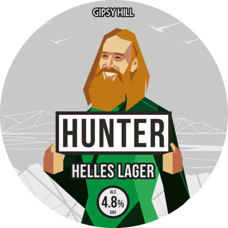 Gipsy Hill Brewing Co Hunter - Helles Lager – Buy Beer online on EeBriaTrade.com