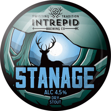 Intrepid Brewing Stanage Stout (Dry Hopped Edition) – Buy Beer online on EeBriaTrade.com