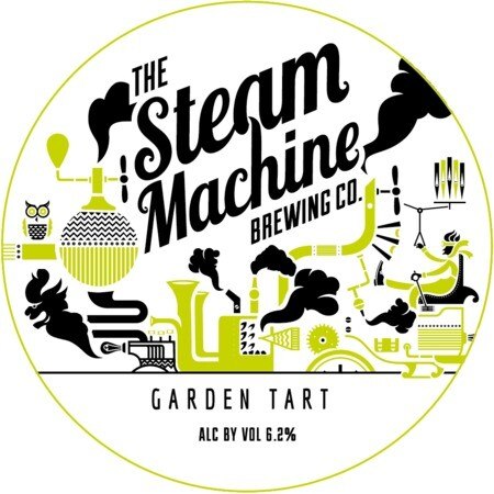 Steam Machine Brewing Co Garden Tart: Gooseberry, Rhubarb, Red Currant – Buy Beer online on EeBriaTrade.com