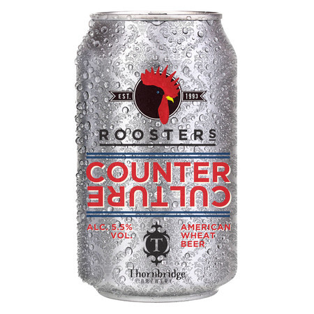 Rooster's Brewing Co. Counter Culture – Buy Beer online on EeBriaTrade.com