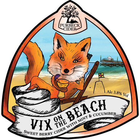 Purbeck Cider Company Vix on the Beach – Buy Cider online on EeBriaTrade.com