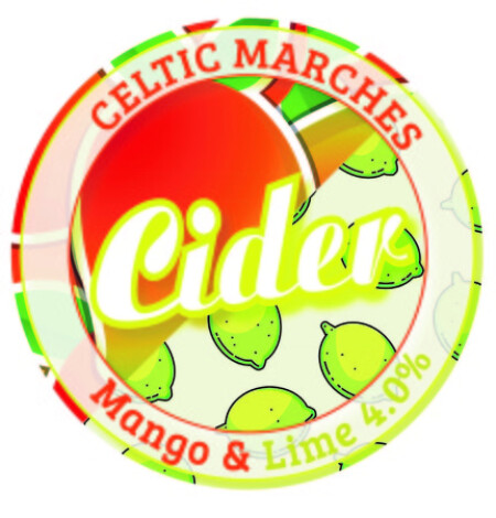 Celtic Marches Mango and Lime – Buy Cider online on EeBriaTrade.com