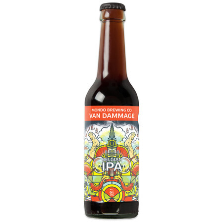 Mondo Brewing Van Dammage Belgian IPA – Buy Beer online on EeBriaTrade.com