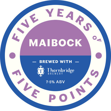 Thornbridge Brewery Maibock - 5 Points Collaboration – Buy Beer online on EeBriaTrade.com