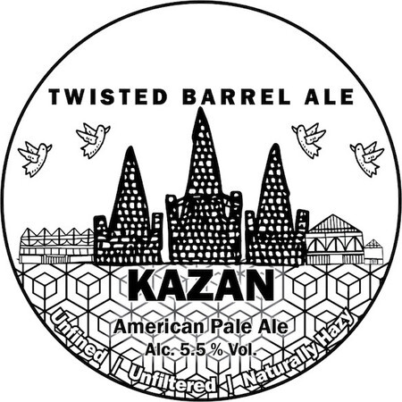 Twisted Barrel Kazan – Buy Beer online on EeBriaTrade.com