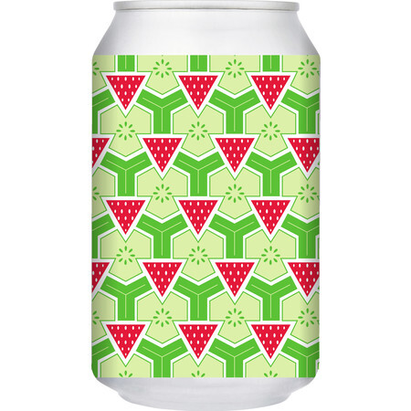 Brick Brewery Strawberry & Cucumber Sour – Buy Beer online on EeBriaTrade.com