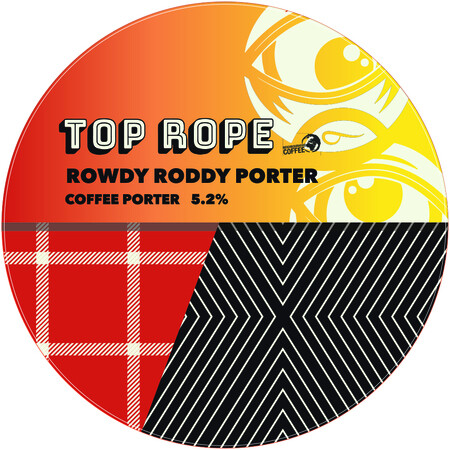 Top Rope Brewing Rowdy Roddy Porter – Buy Beer online on EeBriaTrade.com