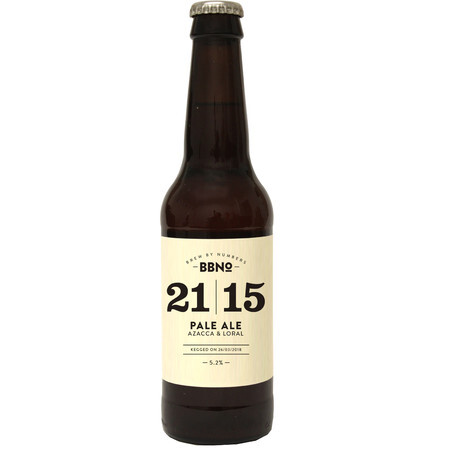 Brew By Numbers 21|15 Pale Ale - Azacca & Loral – Buy Beer online on EeBriaTrade.com
