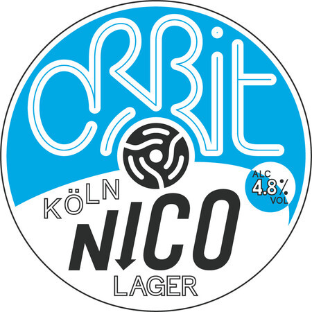 Orbit Beers London Nico (Köln style lager) – Buy Beer online on EeBriaTrade.com