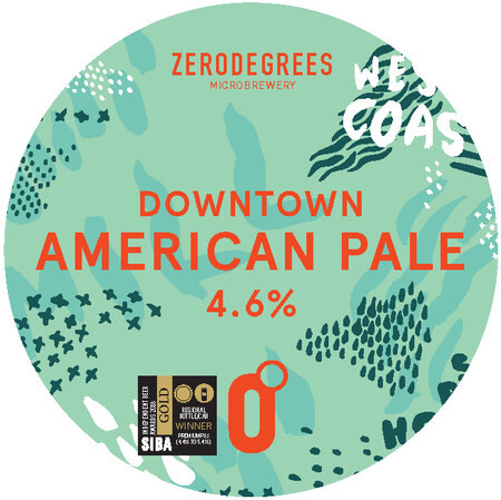 Zerodegrees DOWNTOWN - AMERICAN PALE ALE – Buy Beer online on EeBriaTrade.com
