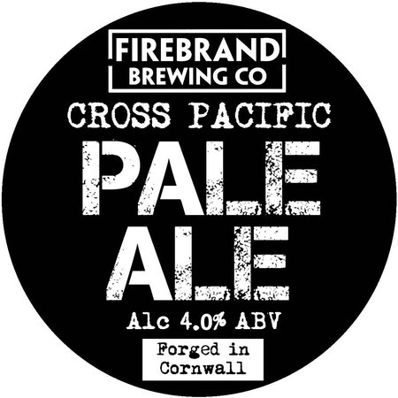 Firebrand Brewing Cross Pacific Pale Ale – Buy Beer online on EeBriaTrade.com