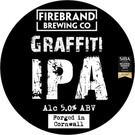 Firebrand Brewing Graffiti IPA – Buy Beer online on EeBriaTrade.com