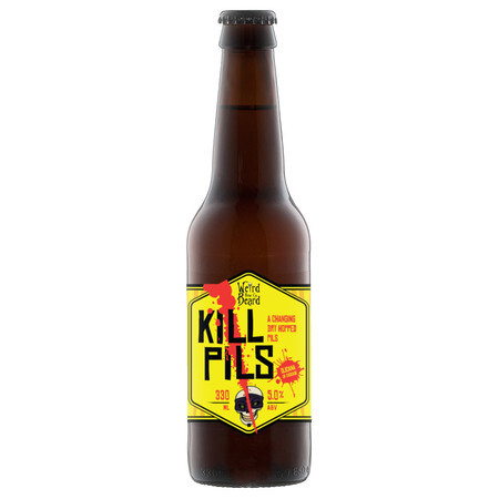 Weird Beard Brew Co Kill Pils – Buy Beer online on EeBriaTrade.com