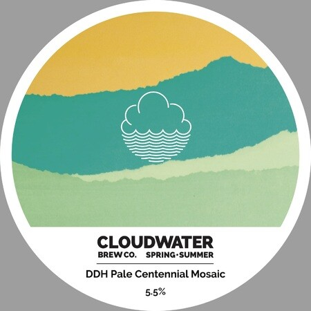 Cloudwater Brew Co DDH Pale Centennial Mosaic (460) – Buy Beer online on EeBriaTrade.com