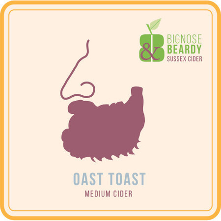 Bignose & Beardy Oast Toast (2017) – Buy Cider online on EeBriaTrade.com