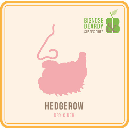 Bignose & Beardy Hedgerow (2016) – Buy Cider online on EeBriaTrade.com