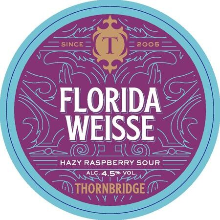 Thornbridge Brewery Florida Weisse – Buy Beer online on EeBriaTrade.com
