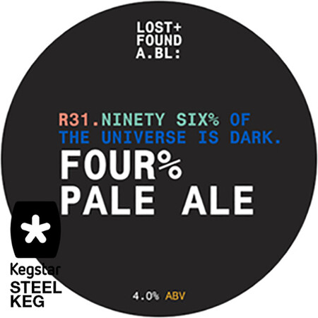 Lost+Found A.BL R31. FOUR% Pale Ale  – Buy Beer online on EeBriaTrade.com