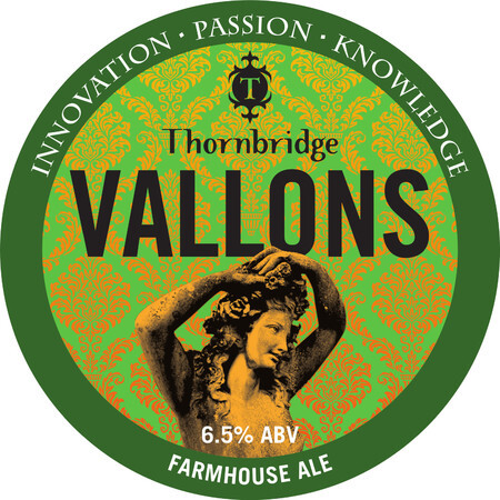 Thornbridge Brewery Vallons – Buy Beer online on EeBriaTrade.com