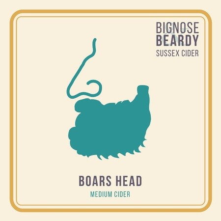 Bignose & Beardy Boars Head (Medium Cider) (2017) – Buy Cider online on EeBriaTrade.com