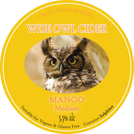 Wise Owl Cider Mango  – Buy Cider online on EeBriaTrade.com