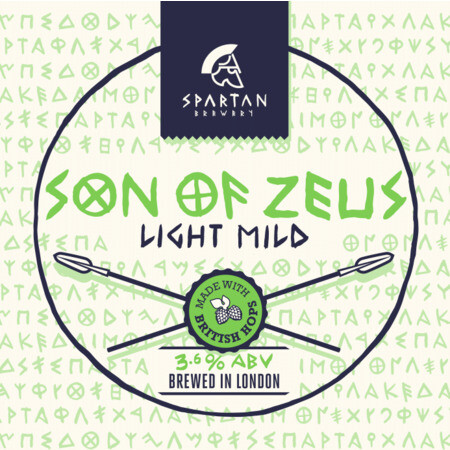 Spartan Brewery Son of Zeus – Buy Beer online on EeBriaTrade.com