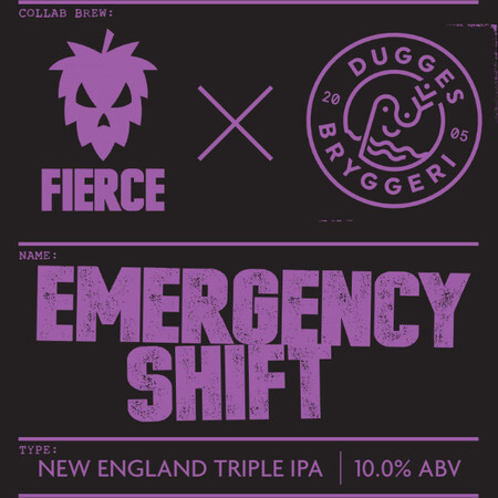 Fierce Beer Emergency Shift – Buy Beer online on EeBriaTrade.com