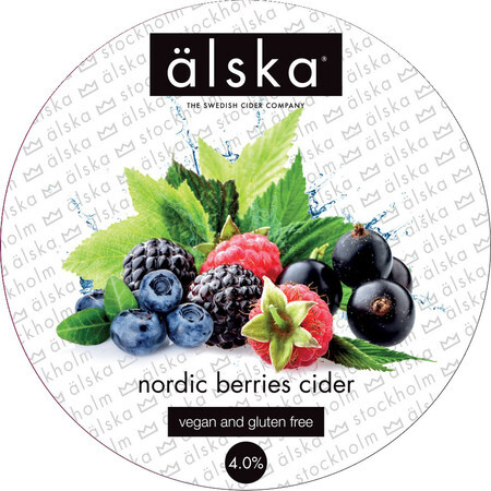 Alska Cider (Sweden) Alska Nordic Berries Flavoured Cider – Buy Cider online on EeBriaTrade.com