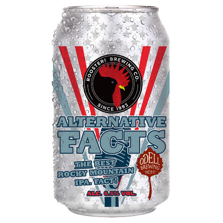 Rooster's Brewing Co. Alternative Facts  – Buy Beer online on EeBriaTrade.com