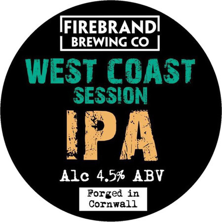 Firebrand Brewing West Coast Session IPA  – Buy Beer online on EeBriaTrade.com
