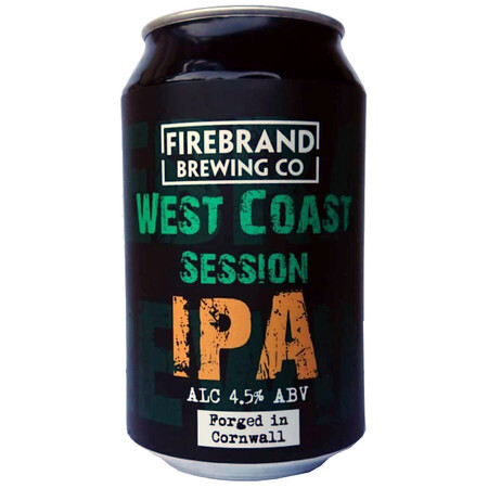 Firebrand Brewing West Coast Session IPA Cans  – Buy Beer online on EeBriaTrade.com