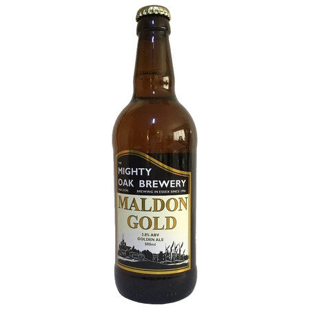 Mighty Oak Brewery Maldon Gold – Buy Beer online on EeBriaTrade.com