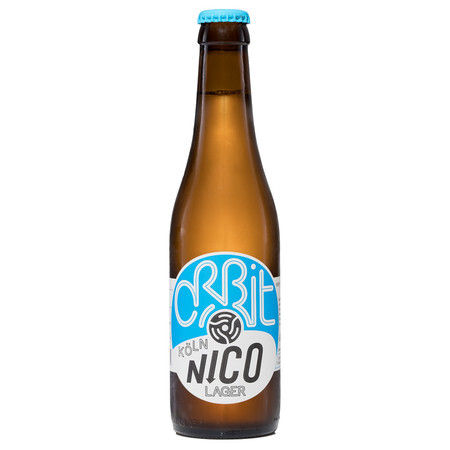 9e0f512c5af2 Orbit Beers London Nico (Köln style lager) – Buy Beer online on EeBriaTrade.
