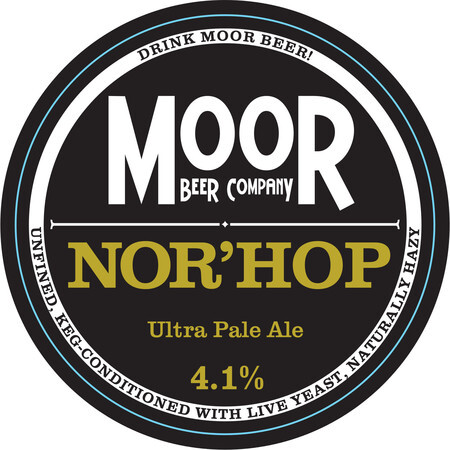 Moor Beer Company Nor'Hop – Buy Beer online on EeBriaTrade.com
