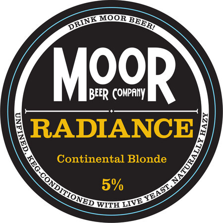 Moor Beer Company Radiance – Buy Beer online on EeBriaTrade.com