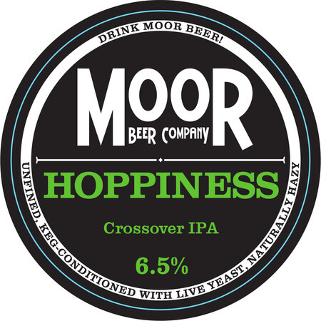 Moor Beer Company Hoppiness – Buy Beer online on EeBriaTrade.com