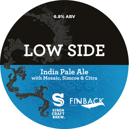 Siren Craft Brew Low Side - Collab with Finback – Buy Beer online on EeBriaTrade.com