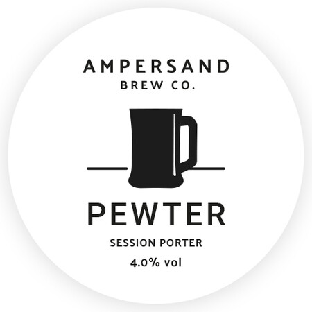 Ampersand Brew Co Pewter - Session Porter – Buy Beer online on EeBriaTrade.com