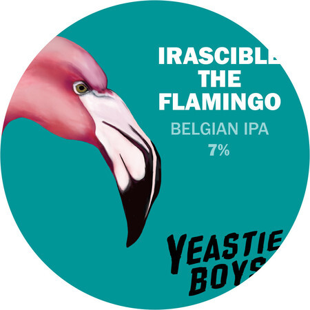 Yeastie Boys UK Irascible the Flamingo (Belgian style IPA) – Buy Beer online on EeBriaTrade.com