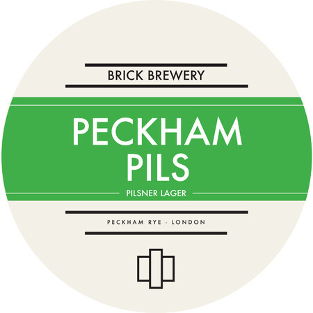 Brick Brewery Peckham Pils – Buy Beer online on EeBriaTrade.com