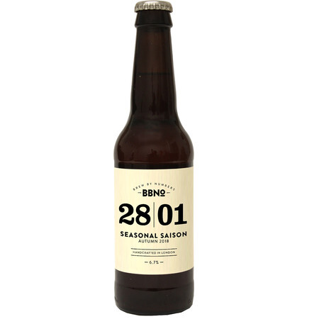 Brew By Numbers 28|01 SEASONAL SAISON - AUTUMN 2018 – Buy Beer online on EeBriaTrade.com