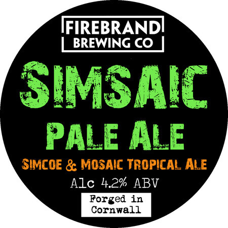 Firebrand Brewing SimSaic  – Buy Beer online on EeBriaTrade.com