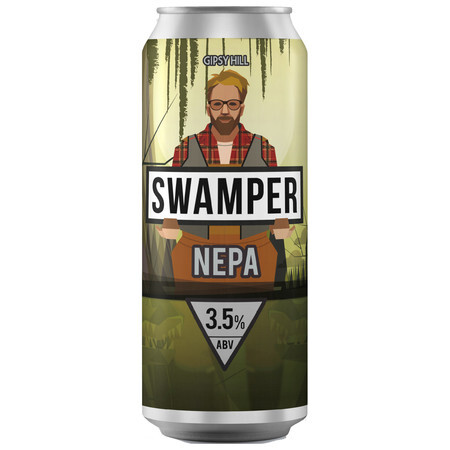 Gipsy Hill Brewing Co Swamper NEPA – Buy Beer online on EeBriaTrade.com
