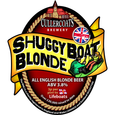 Cullercoats Brewery Shuggy Boat Blonde – Buy Beer online on EeBriaTrade.com