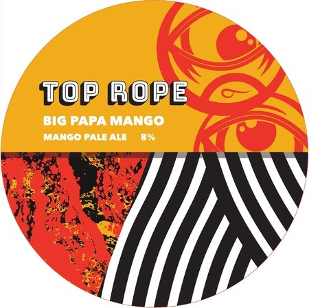 Top Rope Brewing Big Papa Mango – Buy Beer online on EeBriaTrade.com