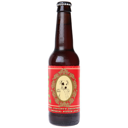 Black Isle Brewing Company Colonel Custard's Xmas Ale 2018 – Buy Beer online on EeBriaTrade.com