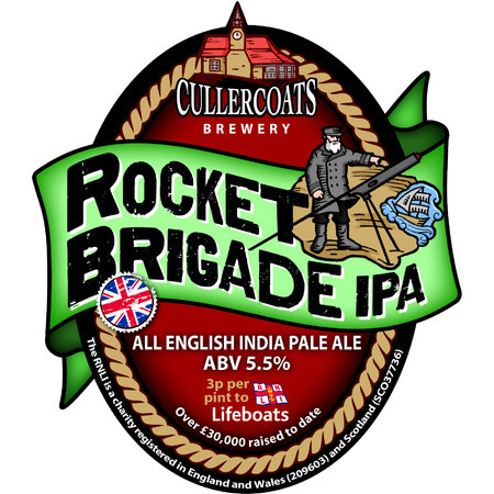 Cullercoats Brewery Rocket Brigade IPA – Buy Beer online on EeBriaTrade.com