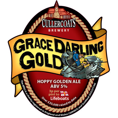 Cullercoats Brewery Grace Darling Gold – Buy Beer online on EeBriaTrade.com