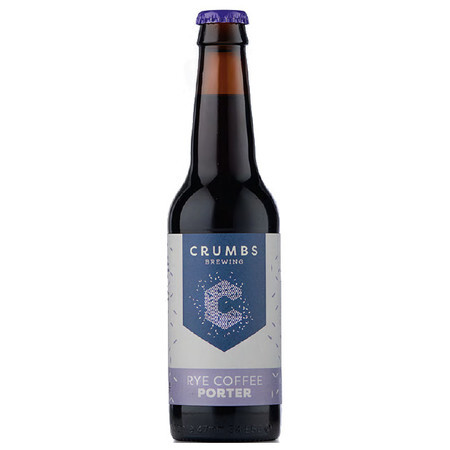 Crumbs Brewing Rye Coffee Porter – Buy Beer online on EeBriaTrade.com