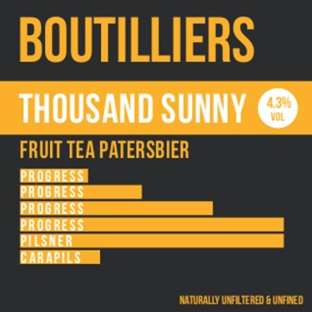 Boutilliers Thousand Sunny – Buy Beer online on EeBriaTrade.com